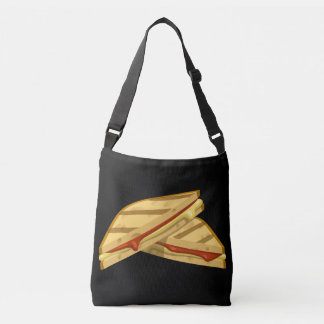 Glitch Food expensive grilled cheese Crossbody Bag