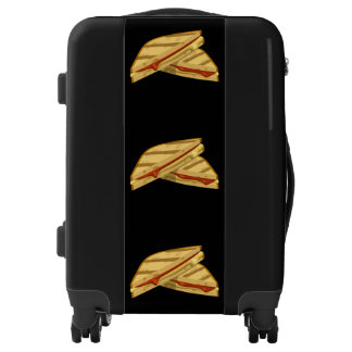 Glitch Food expensive grilled cheese Luggage