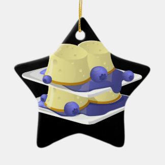 Glitch Food flummery Ceramic Ornament