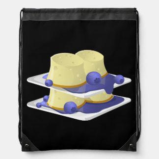 Glitch Food flummery Drawstring Bag
