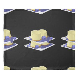 Glitch Food flummery Duvet Cover