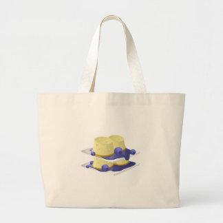 Glitch Food flummery Large Tote Bag