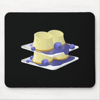 Glitch Food flummery Mouse Pad