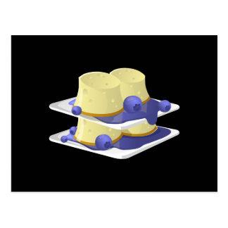 Glitch Food flummery Postcard