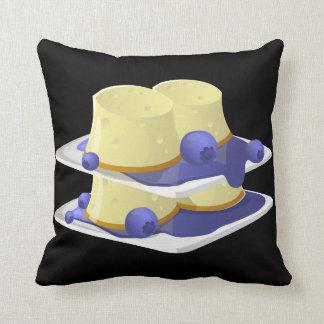 Glitch Food flummery Throw Pillow