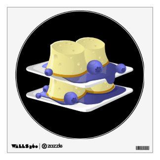 Glitch Food flummery Wall Sticker