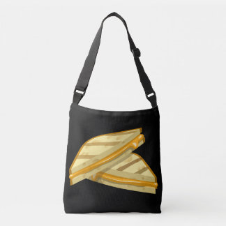 Glitch Food grilled cheese Crossbody Bag