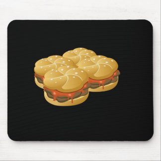 Glitch Food hearty groddle sammich Mouse Pad