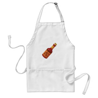 Glitch Food hot n fizzy sauce Adult Apron