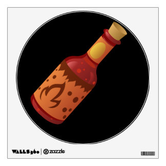 Glitch Food hot n fizzy sauce Wall Sticker