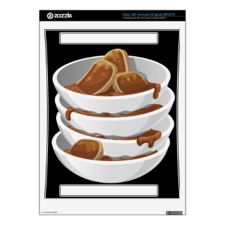 Glitch Food ixstyle braised meat Xbox 360 Console Decal