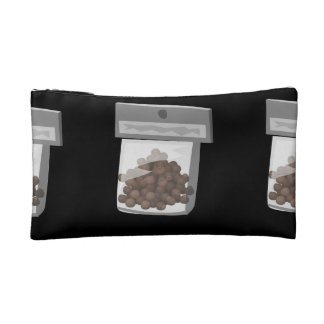 Glitch Food kings of condiments Cosmetic Bag