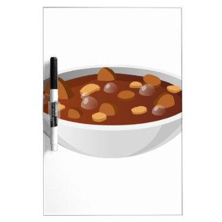 Glitch Food meat gumbo Dry-Erase Board
