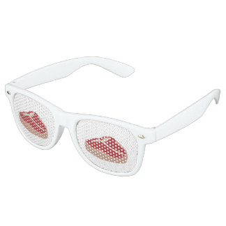 Glitch Food meat Retro Sunglasses