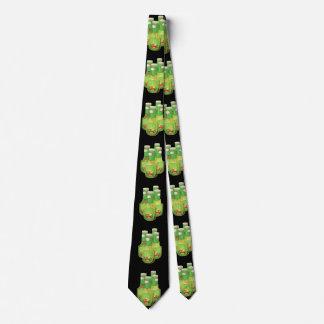 Glitch Food oily dressing Neck Tie