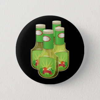 Glitch Food oily dressing Pinback Button