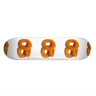 Glitch Food onion rings Skateboard Deck