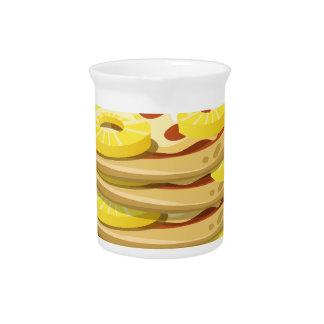 Glitch Food papl upside down pizza Beverage Pitcher