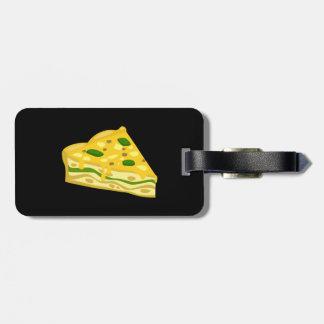 Glitch Food scrumptious frittata Luggage Tag