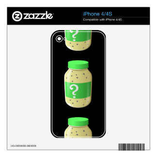 Glitch Food secret sauce iPhone 4S Skins