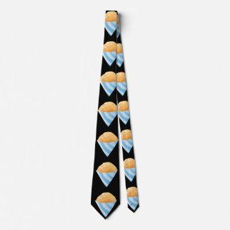 Glitch Food sno cone orange Neck Tie