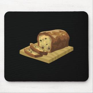 Glitch Food swank zucchini loaf Mouse Pad