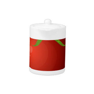 Glitch Food tomato Teapot