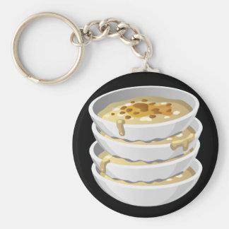 Glitch Food yummy gruel Keychain