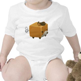 Glitch fox cubimal t shirt
