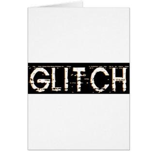 Glitch Greeting Cards