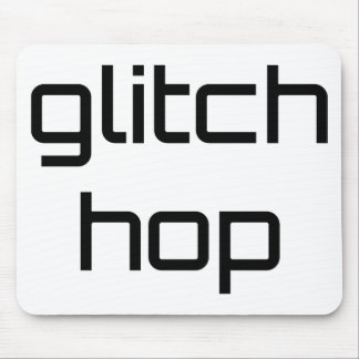Glitch Hop DJ Equalizer - Electronic Music Volume Mouse Pad