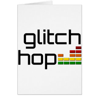 Glitch Hop with Volume Equalizer Card