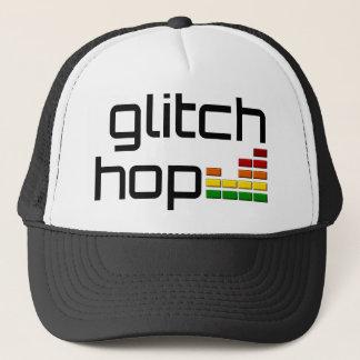Glitch Hop with Volume Equalizer Trucker Hat
