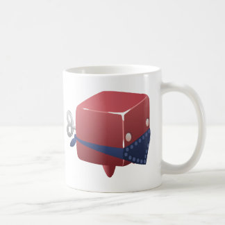 Glitch juju cubimal coffee mug