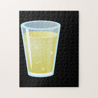 Glitch: lemon juice jigsaw puzzle