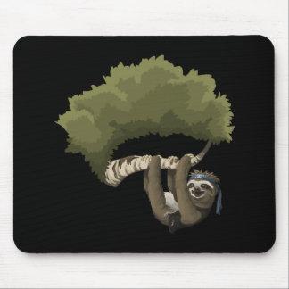 Glitch: Metal Sloth Portrait Mouse Pad
