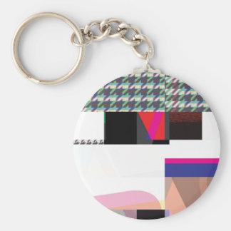 Glitch Number Three Keychain