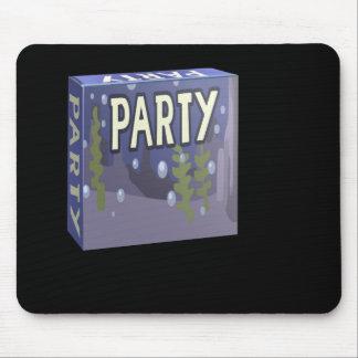 Glitch: party pack aquarius mouse pad