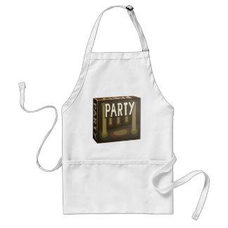 Glitch: party pack mazzala gala adult apron
