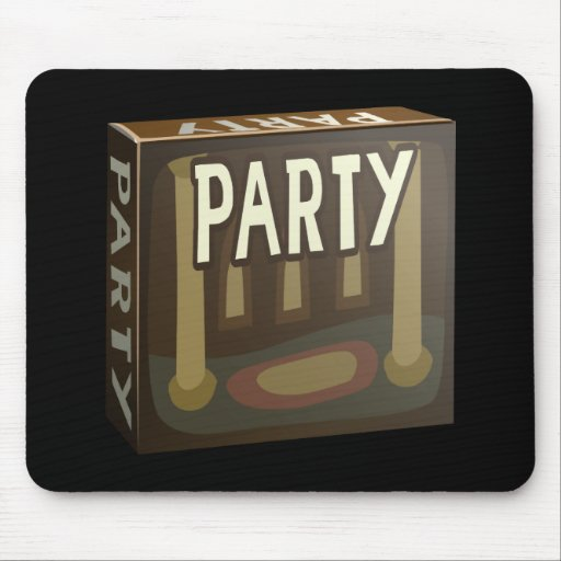 Glitch: party pack mazzala gala mouse pad