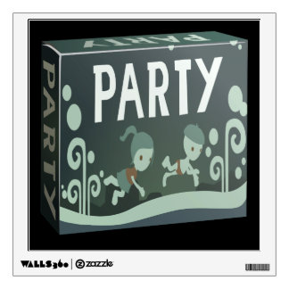 Glitch: party pack nylon phool wall decal