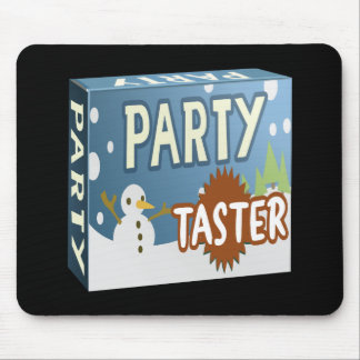 Glitch: party pack taster winter wingding mouse pad