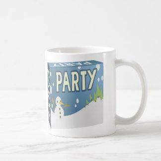 Glitch: party pack winter wingding coffee mug