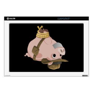 Glitch: quest hogtied piggy explorer skin for laptop