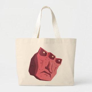 Glitch: quest req icon hellhole large tote bag