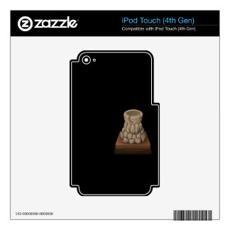 Glitch: quest rook hall shrine holofilm decal for iPod touch 4G