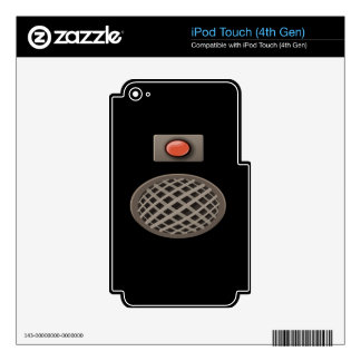 Glitch: quest rook hall speaker iPod touch 4G decal