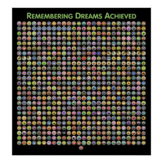 Glitch: Remembering Dreams Achieved Poster