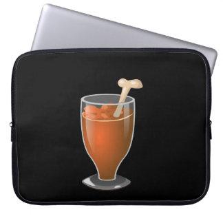 Glitch: savory smoothie laptop sleeve