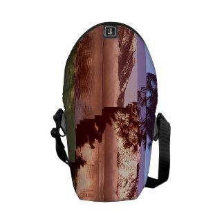 Glitched Tahoe Messenger Bag